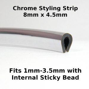 Chrome Styling Strip