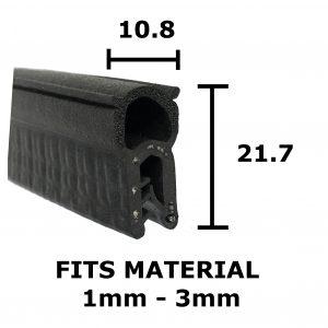 Standard Finned Boot Seal
