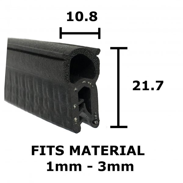 Standard Finned Boot Seal