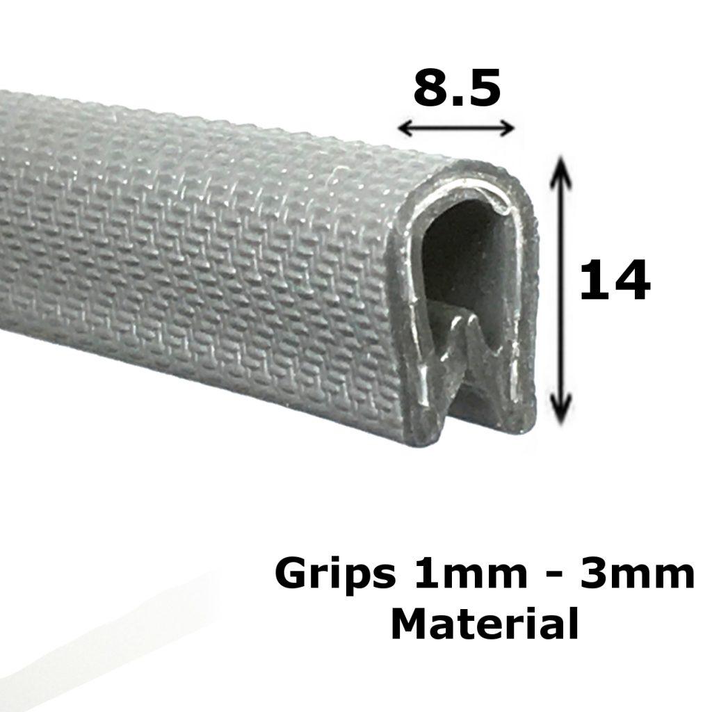 standard silver edge trim