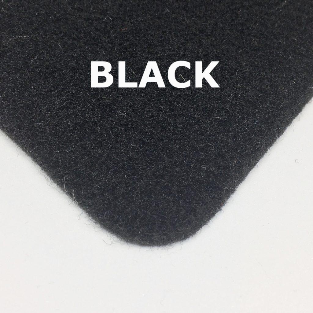 black van lining carpet