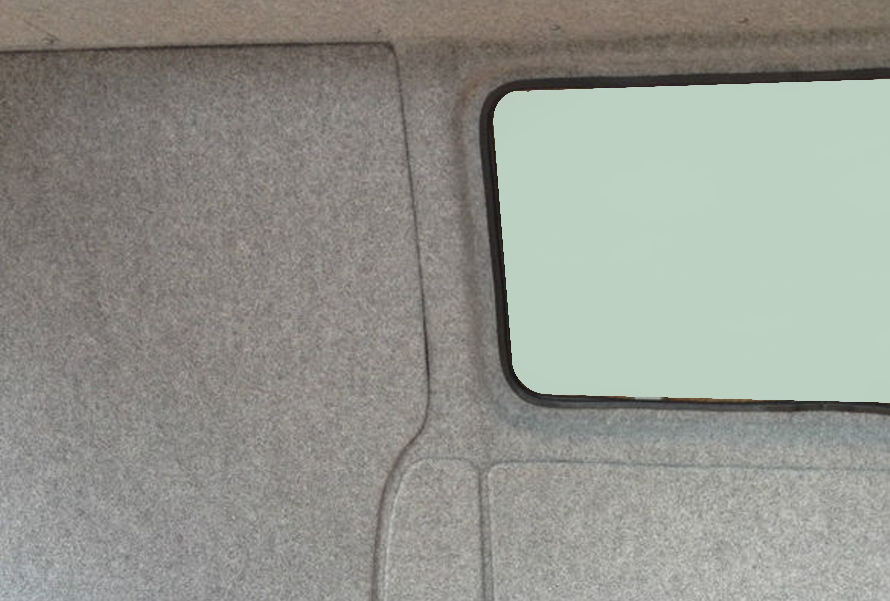 Smoke Grey Van Lining Carpet 4 Way Stretch Camper Van