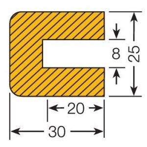 TRAFFIC-LINE Push-Fit Protection - RECTANGLE